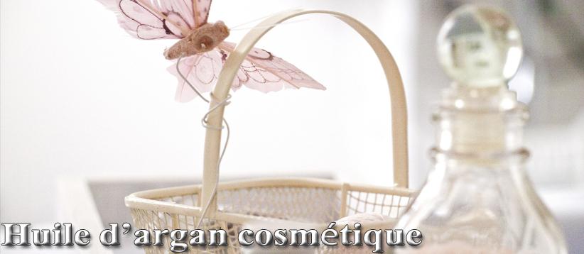huile d argan cosmétique