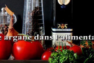 huile argane dans l'alimentation
